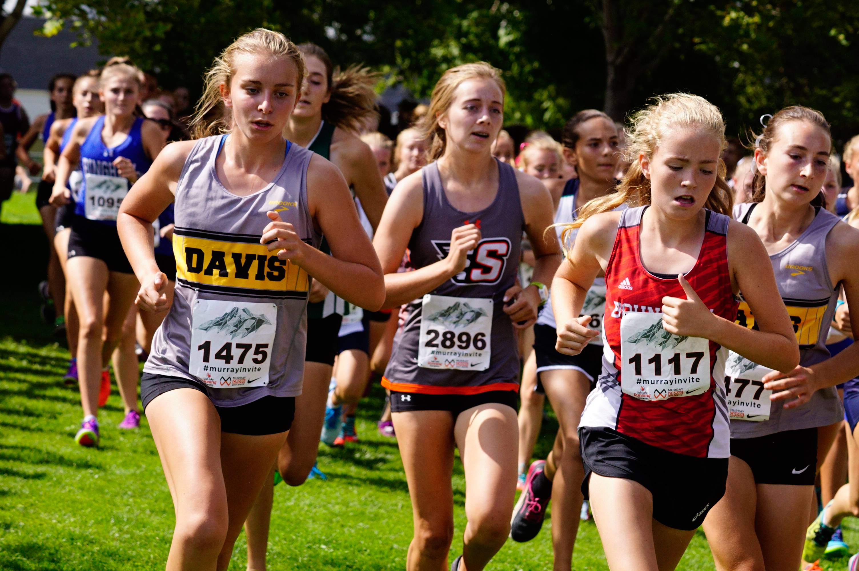 Seeded Girls Race